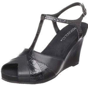 Aerosoles Women's Plushed Sandal Black-NEW